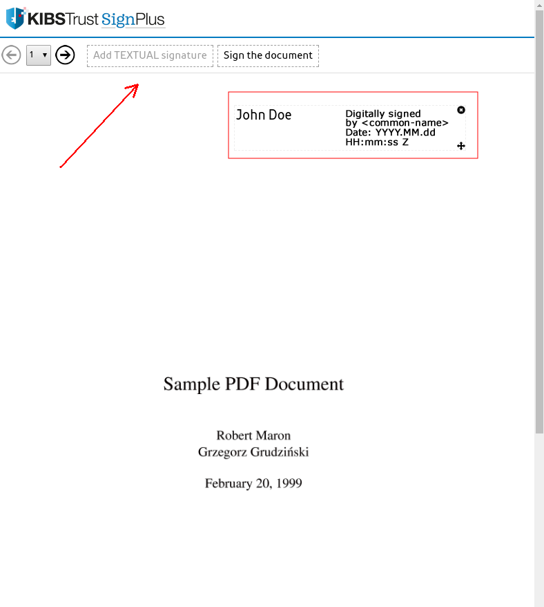 sign pdf document online signplus support